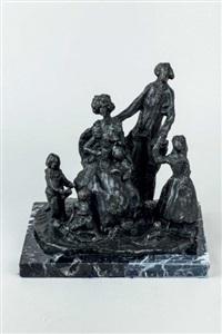 los duques de osuna by pablo serrano