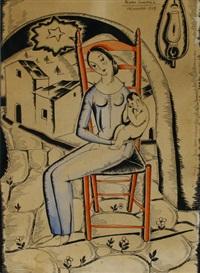 maternité by pedro de valencia