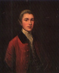 portrait of colonel hamilton by gainsborough dupont