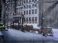 horse carriages by the plaza i by rugero valdini