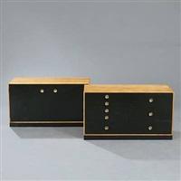 sideboard (in 2 parts) by jarl heger