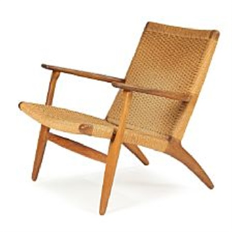 Genial CH 25 Easy Chair By Hans J. Wegner On Artnet