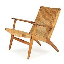 CH 25 Easy Chair By Hans J. Wegner On Artnet