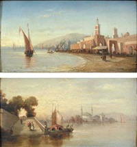 on the shores of bosphorus by ambrogio colombo