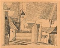buttelstedt by lyonel feininger