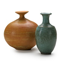 vases (2 works) by laura andreson
