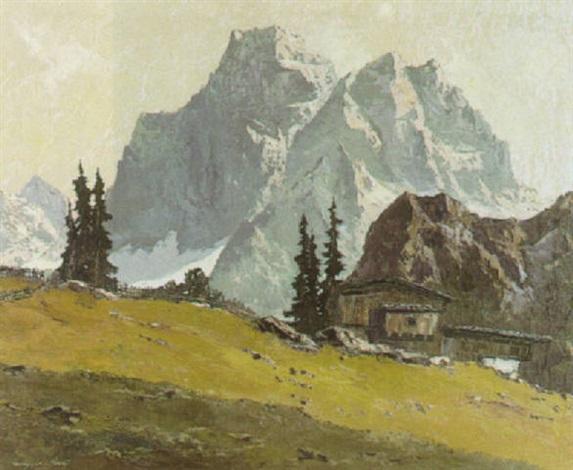der monte pelmo val fiorentino by georg johann arnold