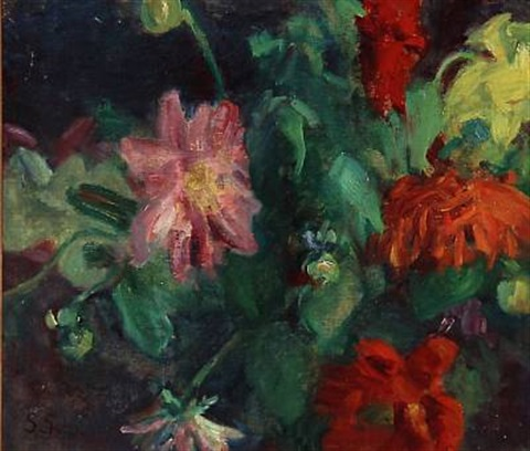 flowers by sigurd swane