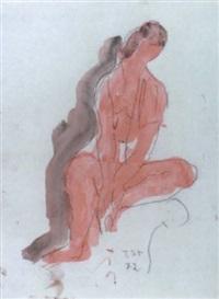 weiblicher akt by anton stadler