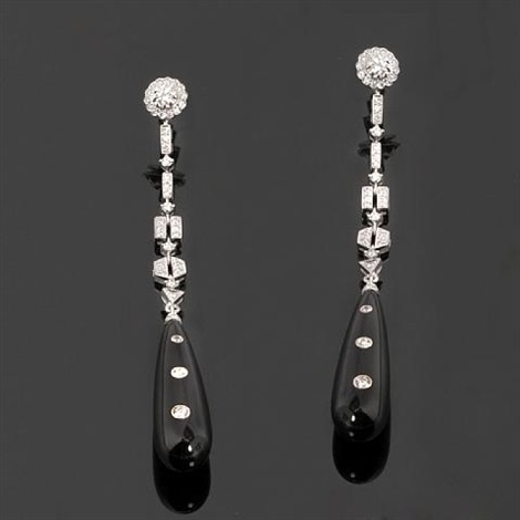 pair of earrings by laura munder