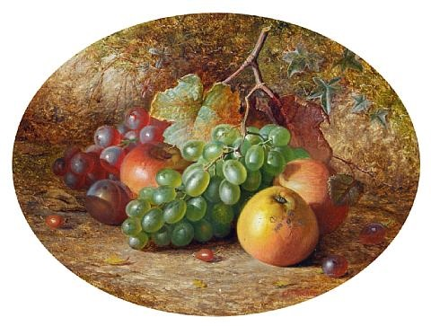 still life with fruit by charles archer