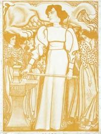 arbeid voor de vrouw by jan toorop