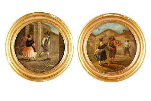 escenas satíricas pair by leonardo alenza y nieto