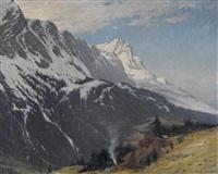 zugspitzmassiv by heinrich gogarten