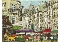 rue de seine by yukio kodama