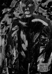 selbstportrait by balduin baas