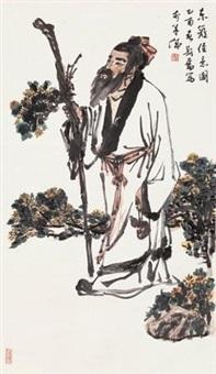 东篱佳意图 by liu sifen