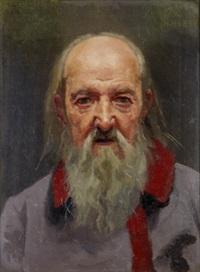 portrait of an old man by nikolaj wassilijewitsch newreff