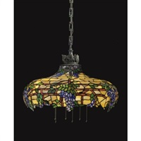 wisteria chandelier by us bent glass company