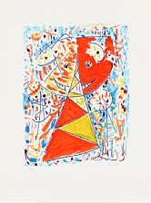 maskernes dans (portfolio of 5) by egill jacobsen