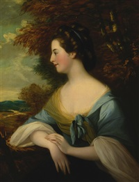 portrait of mary coleby by francis cotes