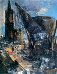 kathedrale, trojanisches pferd by max kaminski