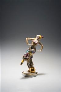 orientalische tänzerin mit kugel by constantin holzer-defanti