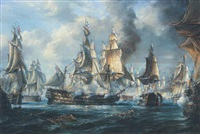 the battle of trafalgar: hm ships
