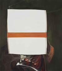 destroyed painting (after francis bacon) by annie cabigting