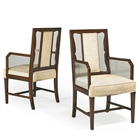 armchairs (pair) by grosfeld house
