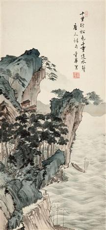 唐人诗意图 by xiao chonghua