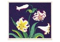 lilies by yayoi kusama