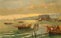 golfo di napoli by raimondo scoppa
