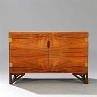 cabinet with brazilian rosewood by svend langkilde