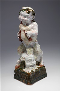 faun mit dudelsack by franz reither the younger