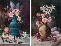 floreros (pair) by jose maria jardines