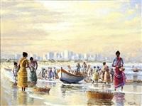 durban fishing scene by adelio zeelie (zagnie)