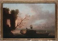paesaggio con figure by francesco fidanza