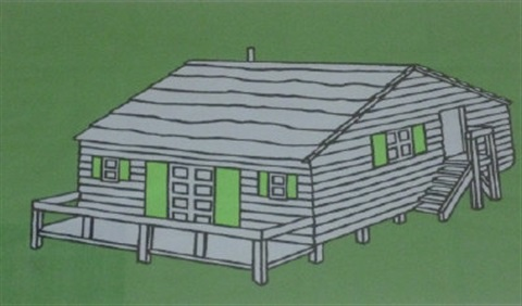 weekend cabin by patrick caulfield