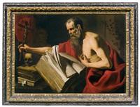der heilige hieronymus by michelangelo merisi da caravaggio