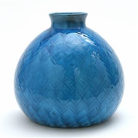 vase (designed by jens tirsund and herman h. c. kähler) by kähler pottery (co.)