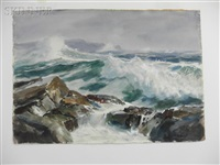 wave upon a shoal by john whorf
