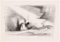 vor der küste by lyonel feininger