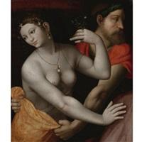 pluto and prosperpine by francesco melzi