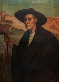 campesino segoviano by valentín de zubiaurre