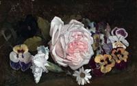 rosa y pensamientos by manuel prieto hurtado