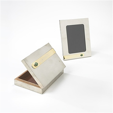 Cigarette Box And Picture Frame By Gucci Co On Artnet