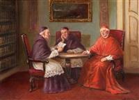 gesprächsrunde beim kardinal by bruno blätter