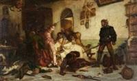 ulrich von hutten züchtigt franzosen by wilhelm von lindenschmit the younger