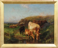 morning near lamorna cove, cornwall by william r.c. watson